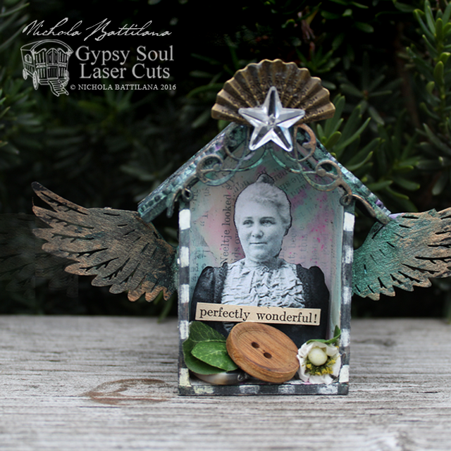 Wee Winged Goodness Shrines with Tutorial - Nichola Battilana