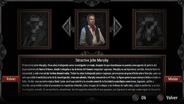 Personajes Lovecraft's Untold Stories