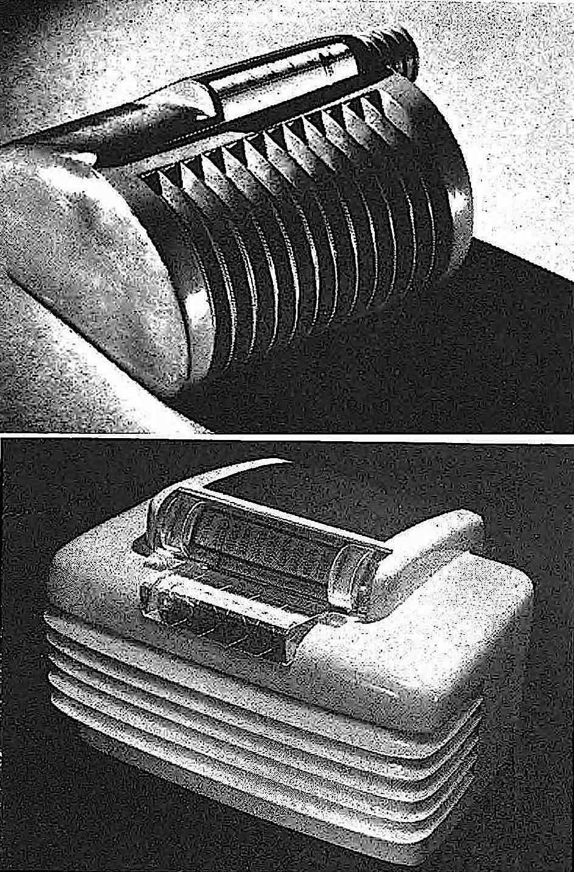 1947 retro-future radios, a photograph