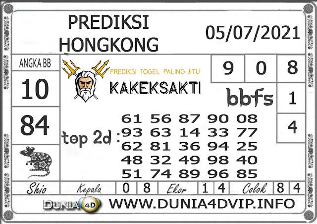 Prediksi Togel HONGKONG DUNIA4D 05 JULI 2021