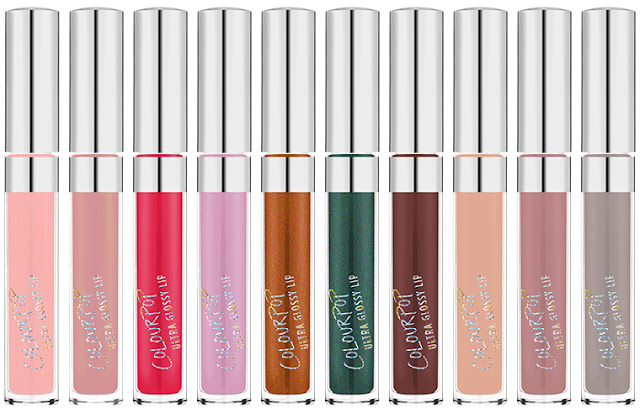 ColourPop Ultra Glossy Lips Collection (Image from ColourPop Cosmetics)