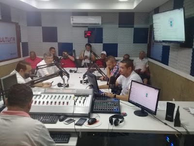Resultado de imagem para roberto paulino na rádio cultura guarabira