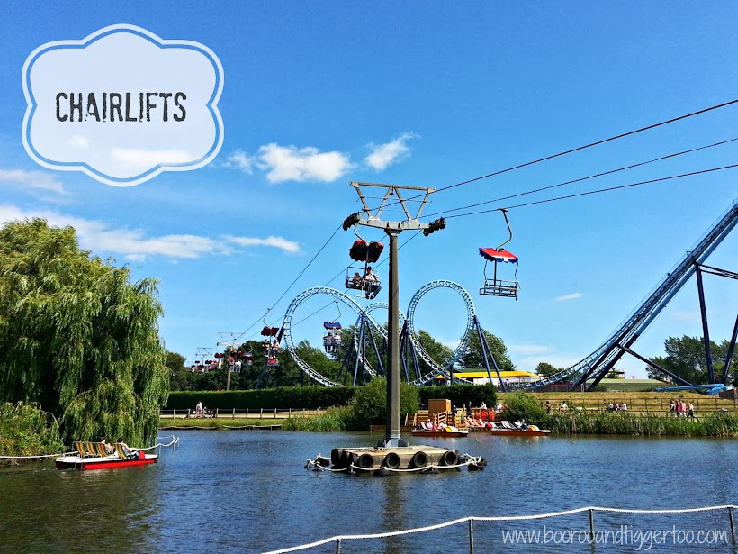 Chairlifts - Pleasurewood Hills, Lowestoft