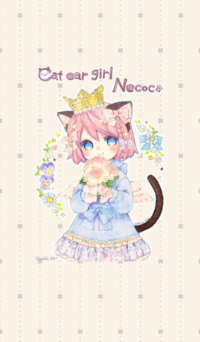 หูแมวหู Necoco ฤดูใบไม้ผลิลุกขึ้น