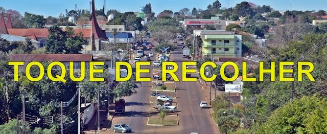 Em novo Decreto, Prefeitura de Roncador determina toque de recolher até o dia 30 de julho