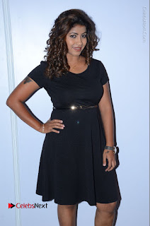 Tollywood Actress Geethanjali Thasya Latest Pos in Black Short Dress at Nanna Nenu Na Boyfriends Audio Launch  0026.JPG