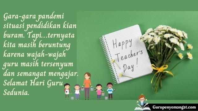 Kata-kata Mutiara Hari Guru Sedunia