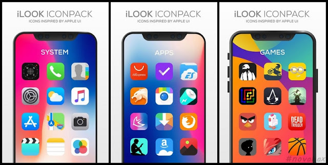 Ilook icon pack apk free download