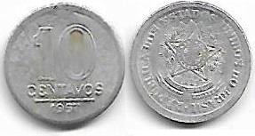 10 centavos, 1957