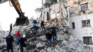 Una decena de muertos y centenares de heridos en un terremoto de magnitud 6,4 en Albania