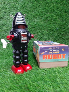 Dijual mainan robot Jadoel kondisi jossss bos
