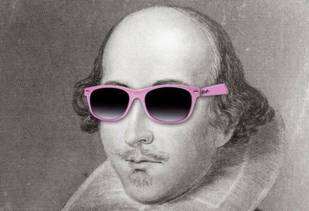 Funny cool Shakespeare insults joke picture