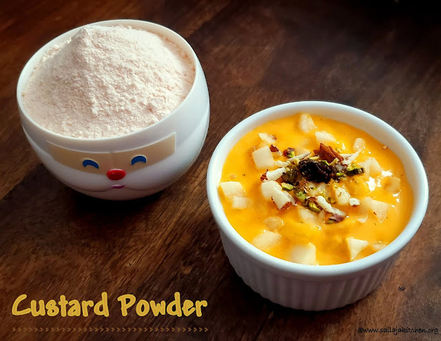 images of How to Make Custard Powder / Homemade Custard Powder