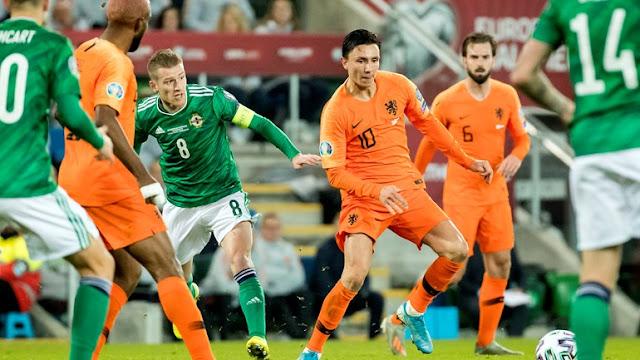 """المنتخب الهولندي يتأهل إلى نهائيات """"يورو 2020"""" بعد غيابه عن النسخة الماضية"""