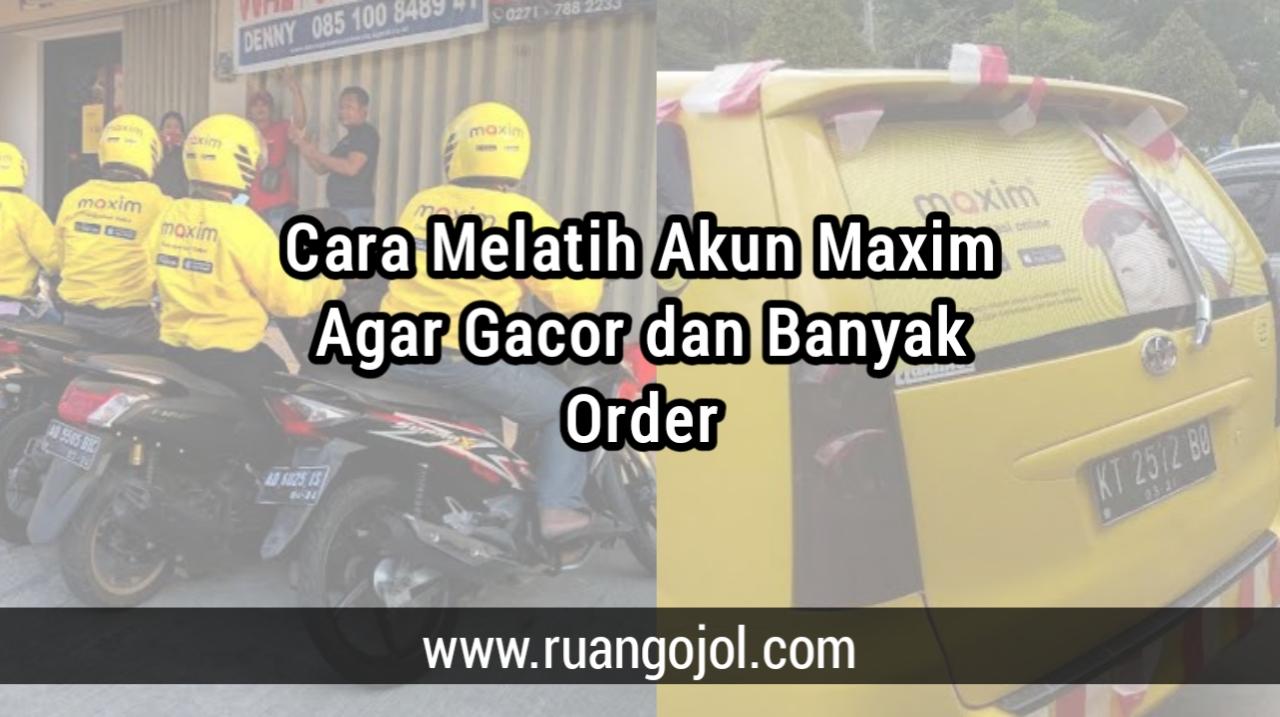 Cara Gacor maxim driver