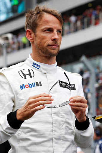 Jenson Button balap Super GT