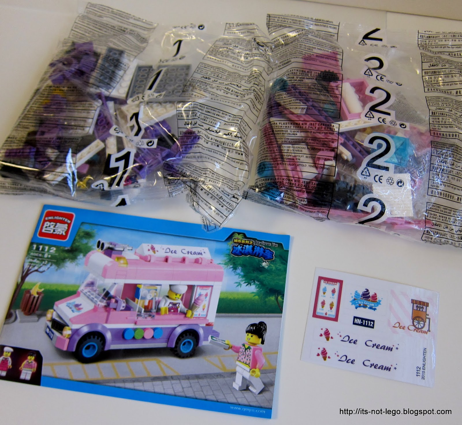 lego ice cream truck instructions 70804