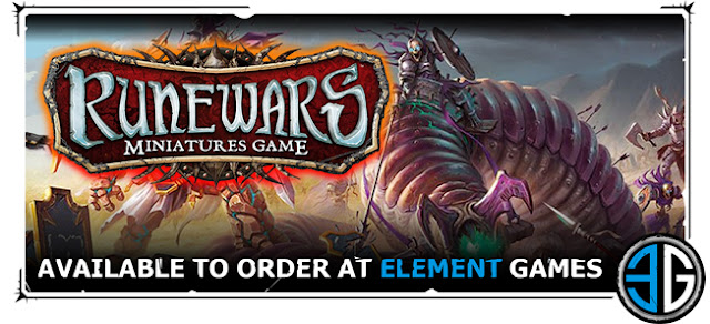 Element Games: New Fantasy RuneWars - Miniature Tabletop Wargame