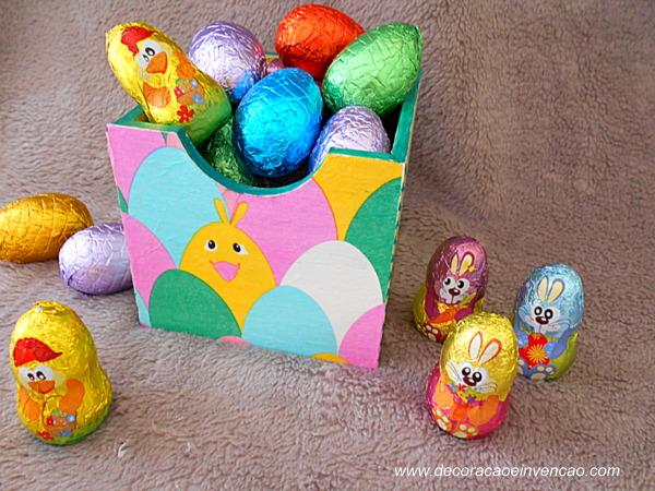 Segunda Páscoa Linda - Caixinha Decorada de Páscoa