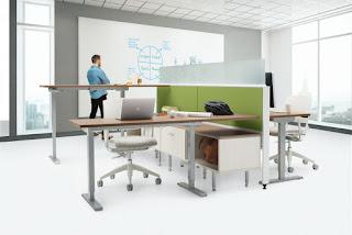 ergonomic office benching