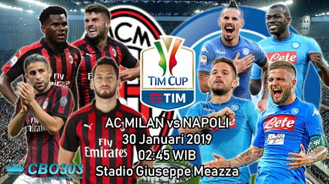 PREDIKSI BOLA: AC Milan vs Napoli