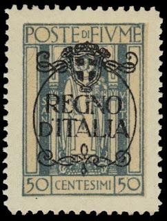 Fiume St, Vitus Regno D'italia  50 cent