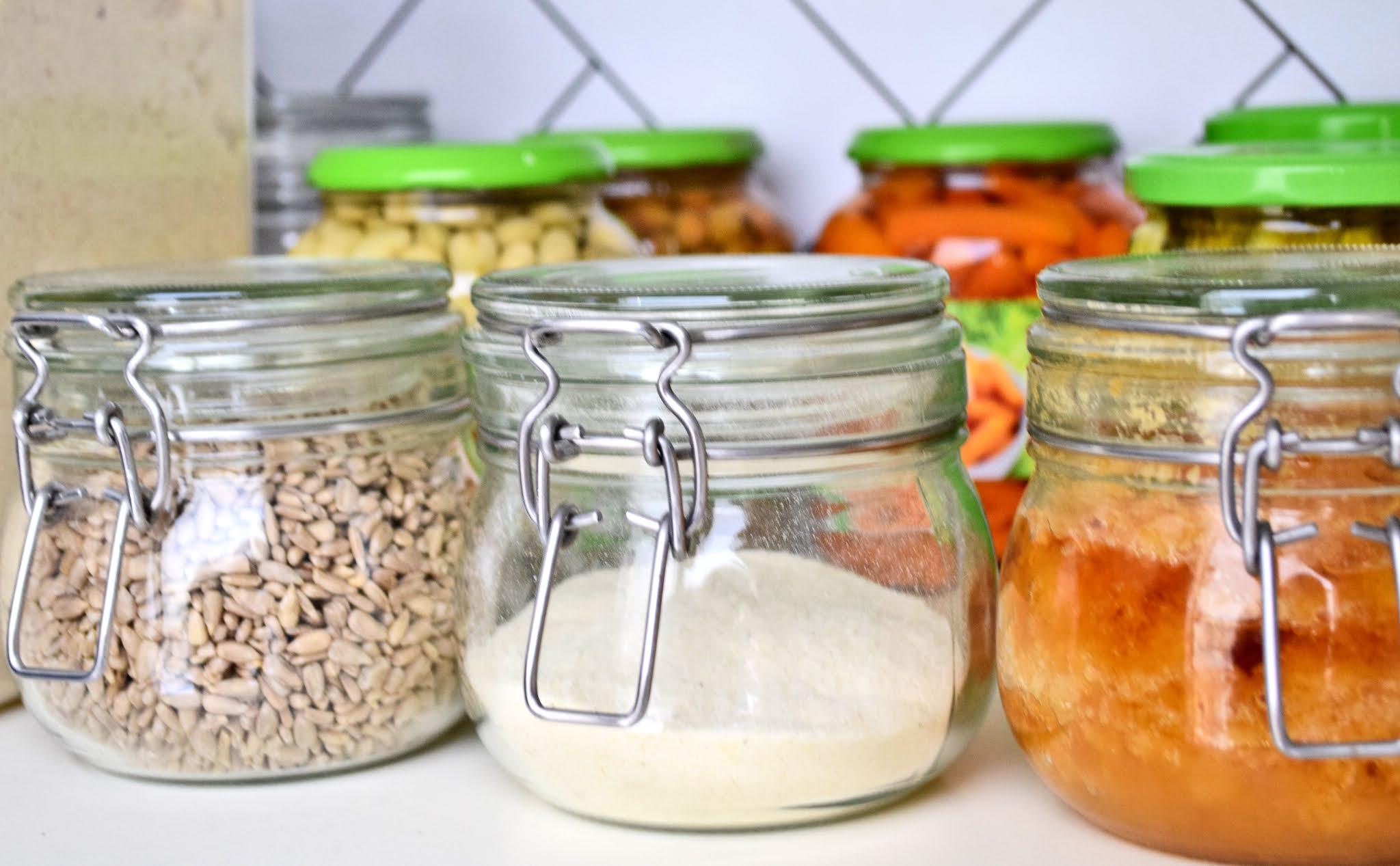 szklane sloiki na żywność