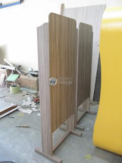 Rak Arsip Lateral & Front Desk Furniture Semarang