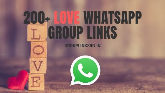 Whatsapp Group Links Love 2020- join now