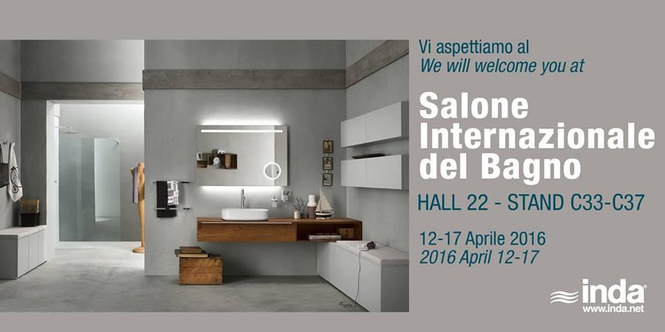 Weblogsaloni le novit dall 39 arredobagno con inda for Orari salone del mobile 2016
