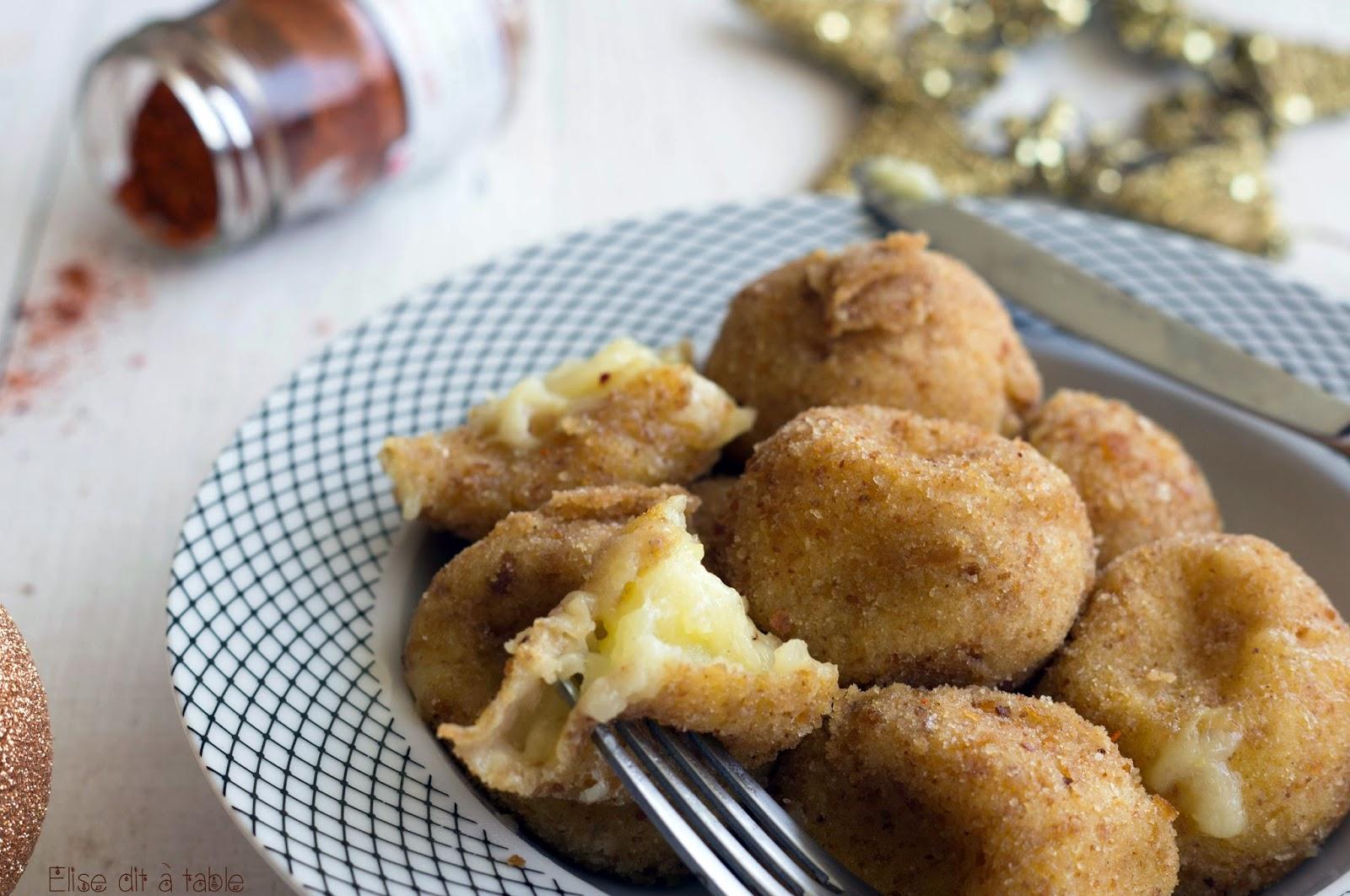 recette Pommes noisettes à l'ossau iraty
