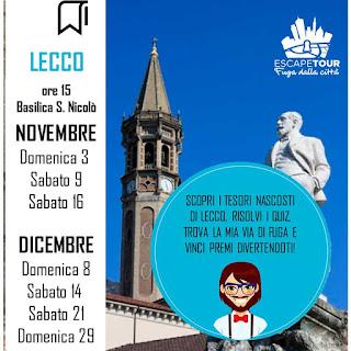 Escape Tour date di Lecco