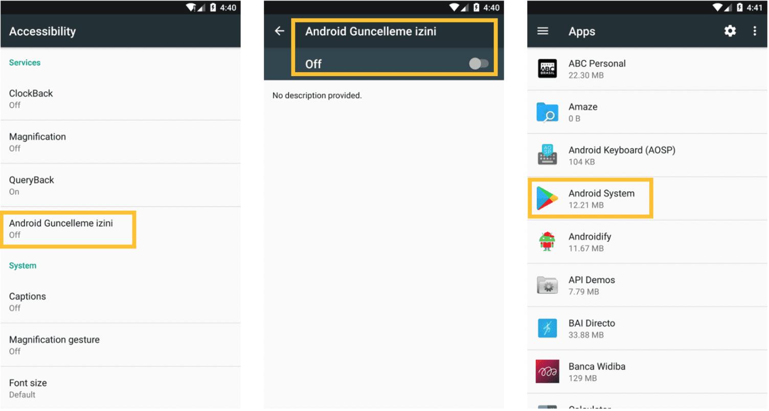 Android Banking Malware