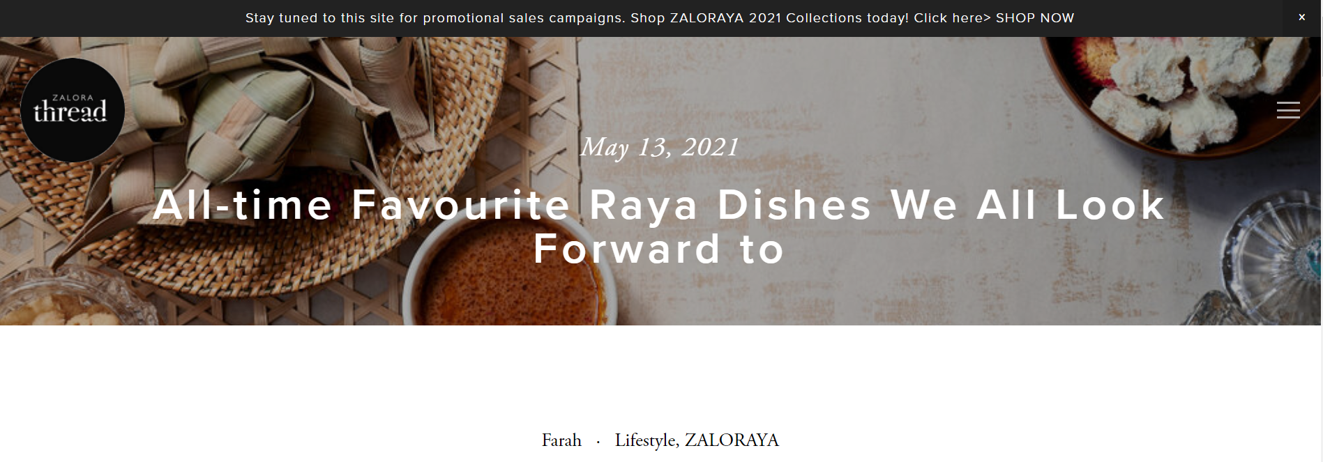 All-time Favourite Raya Dishes We All Look Forward to