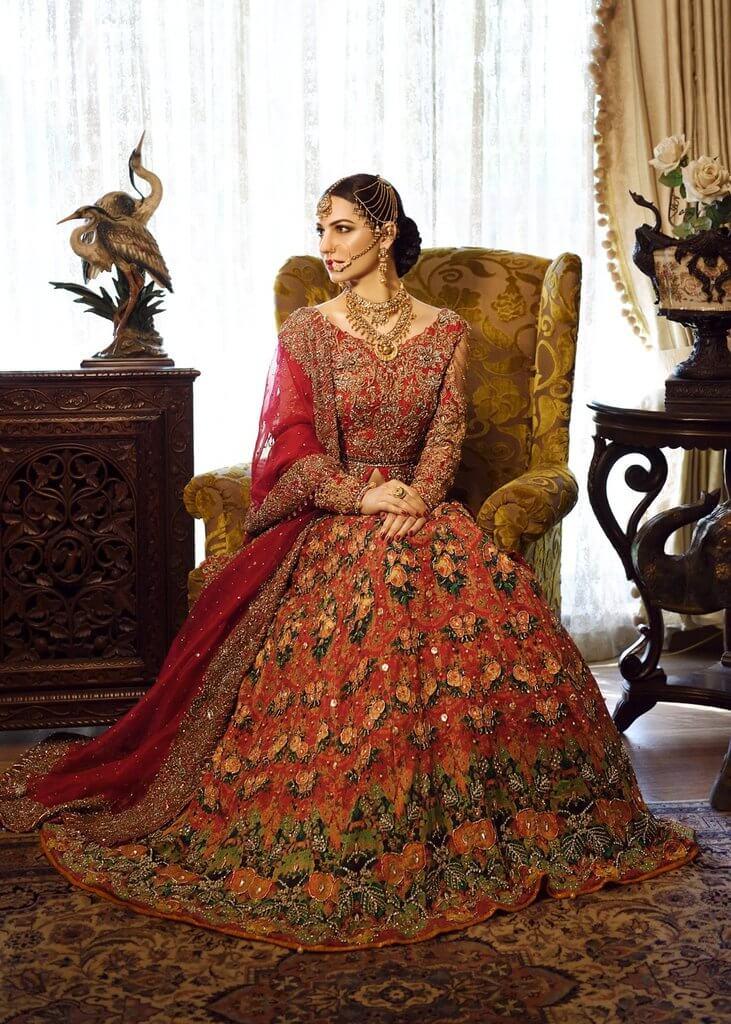 Shiza Hassan Pakistani Bridal Wear in UK