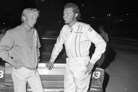 Richard Petty at NASCAR's Last Dirt Race