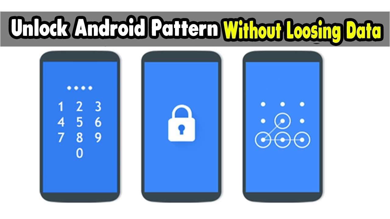 How to hack pattern or pin lock on android phone