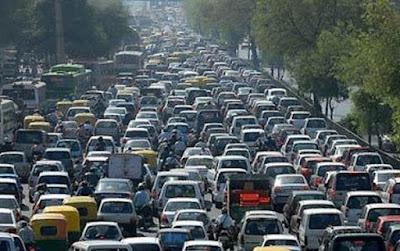 Congestionamiento ambiental Ciudad México