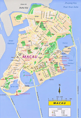 แผนที่มาเก๊า (Macau)