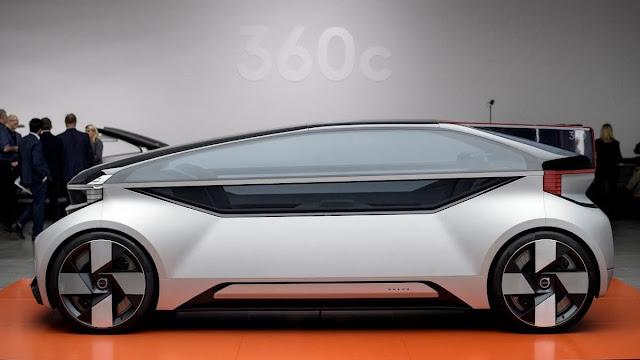 Volvo presenta taxi autónomo para competir hasta con aerolíneas