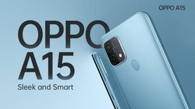 Spesifikasi dan Harga HP Oppo A15 Terbaru