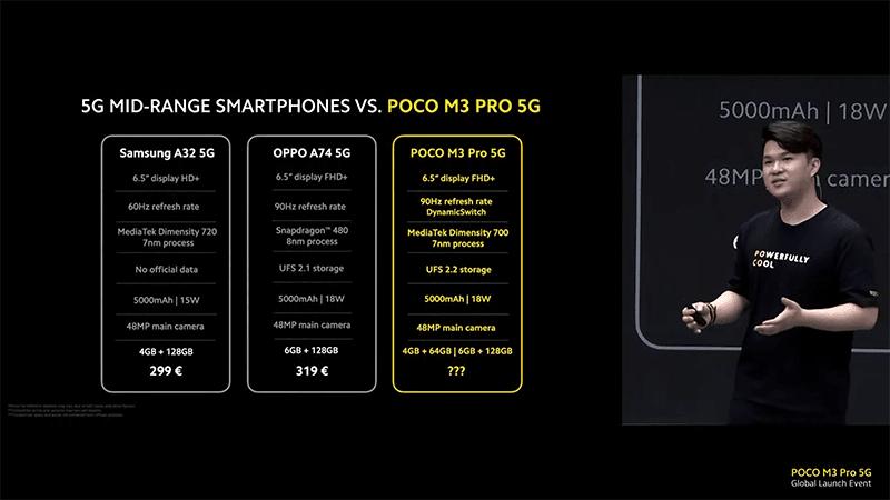 Vs other mid-range 5G phones
