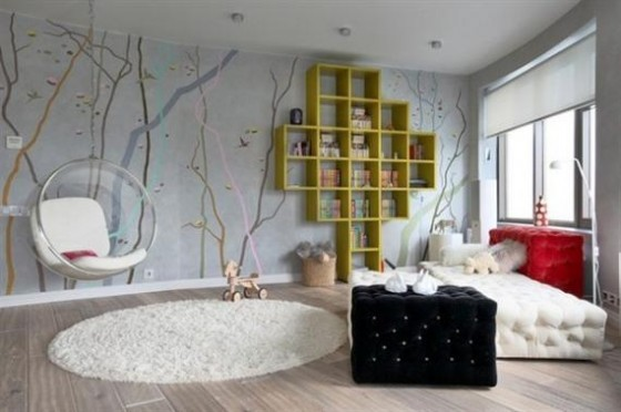 This Darb Life: Into The Woods- DIY Wall Murals