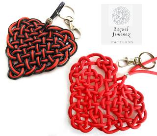 patrones corazones celtas