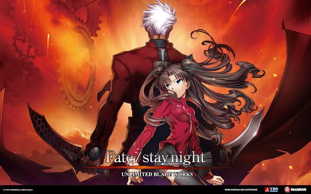 Fate/stay night Unlimited Blade Works (Pelicula) (01/01) (350MB) (HDL) (Sub Español) (Mega)