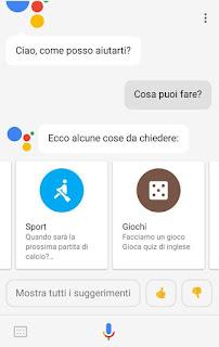 Apk google assistant in italiano novablog for Google assistant italia