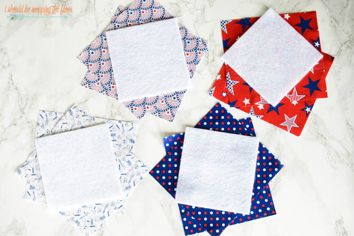Easy Quilted Coasters