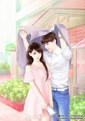 RAIN LOVE SHAYARI COUPLE IMAGES