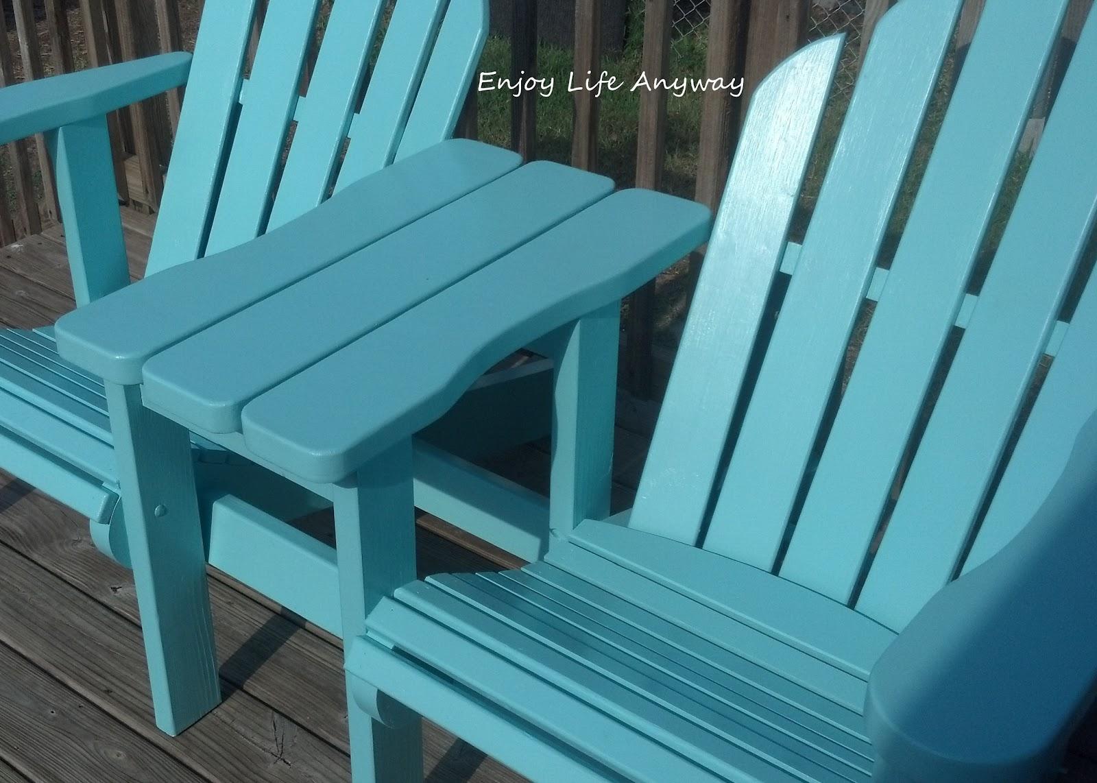 Diy Adirondack Chair Kit Covers Pillowcase Enjoy Life Anyway Twin Chairs