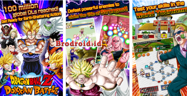 Download Dragon Ball Z Dokkan Battle Mod Apk High Attack + God Mode Versi Terbaru